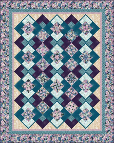 Belle Kaleidoscope QM125 Grand Majorica Purple 2015-8-18