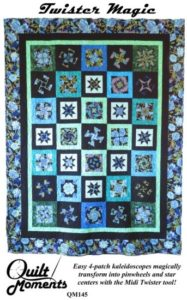 Twister Magic quilt pattern