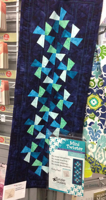Twister Quilt Pattern Directions : Quilt Moments Mini Twister Tool