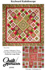 Keyboard Kaleidoscope quilt patter