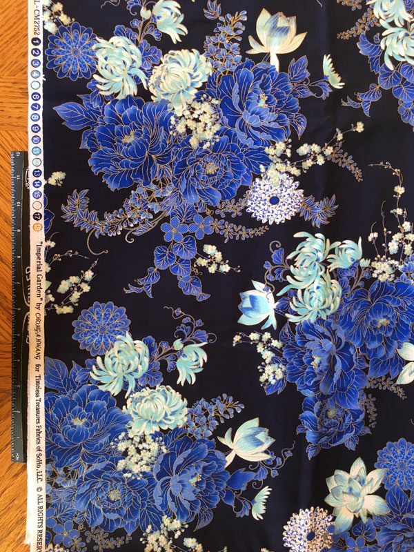 Imperial Blue by Timeless Treasures