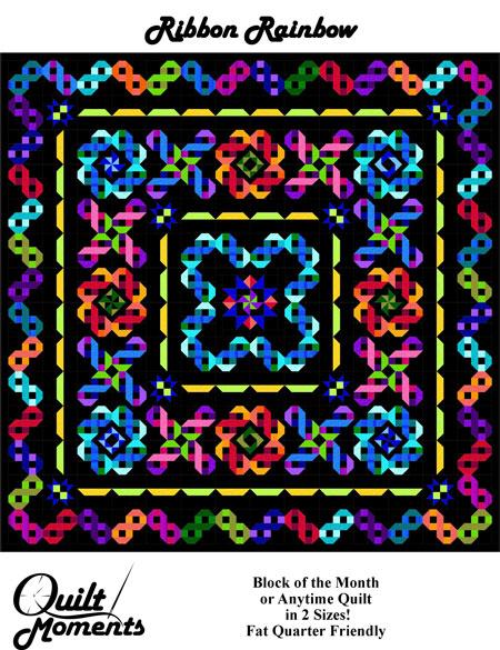 Quilt Moments Ribbon Rainbow Extraordinary Ribbon Pattern